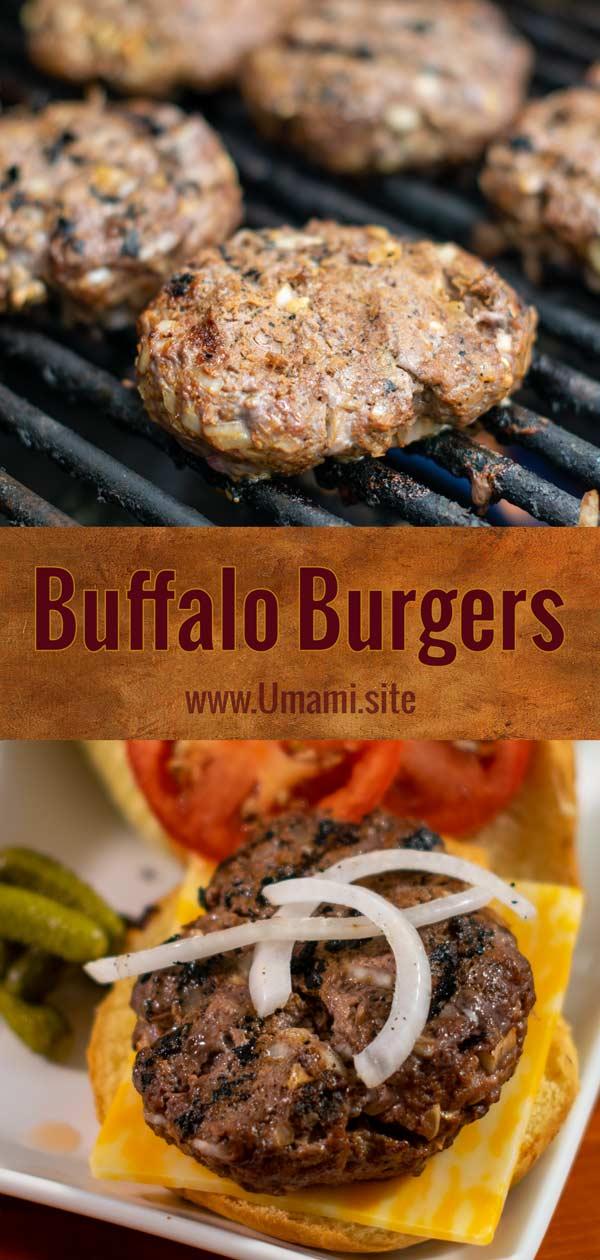 Buffalo Burgers Pinterest