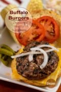 Buffalo Burgers Pinterest Circle