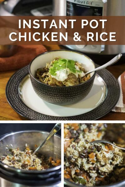 Instant Pot Chicken And Rice Pinterest