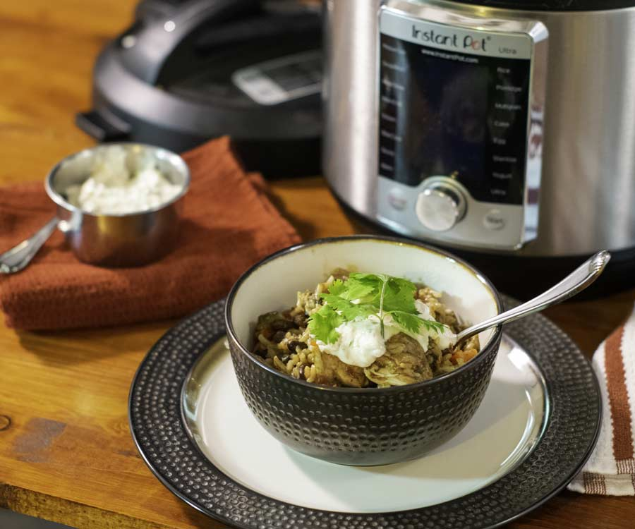 Instant Pot Chicken And Rice 3