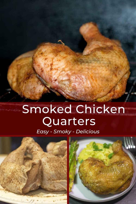 Smoked Chicken Quarters Pinterest