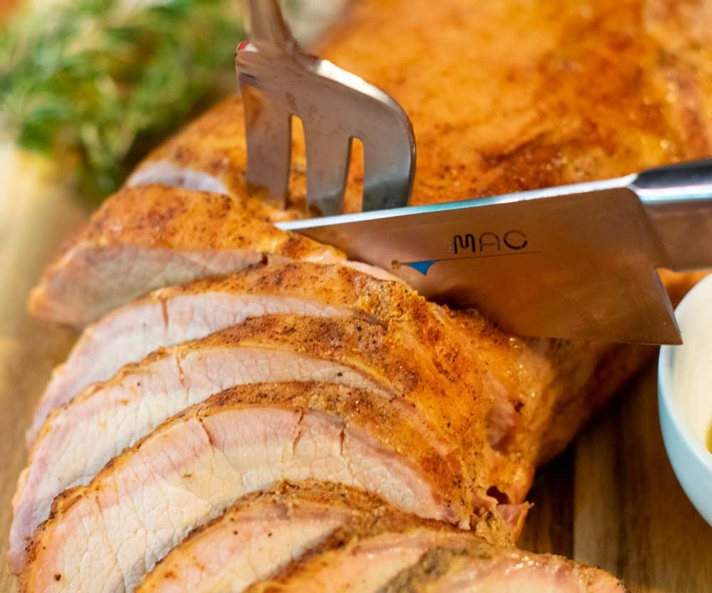 Sliced Smoked Pork Loin