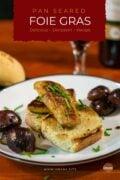 Seared Foie Gras Recipe