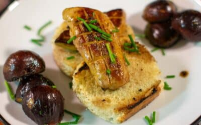 Seared Foie Gras With Caramelized Figs