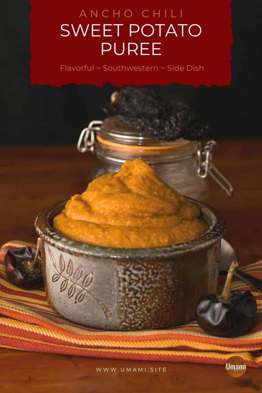 Ancho Chili Sweet Potato Puree