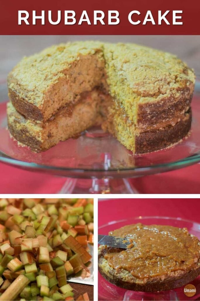 Rhubarb Cake Pinterest