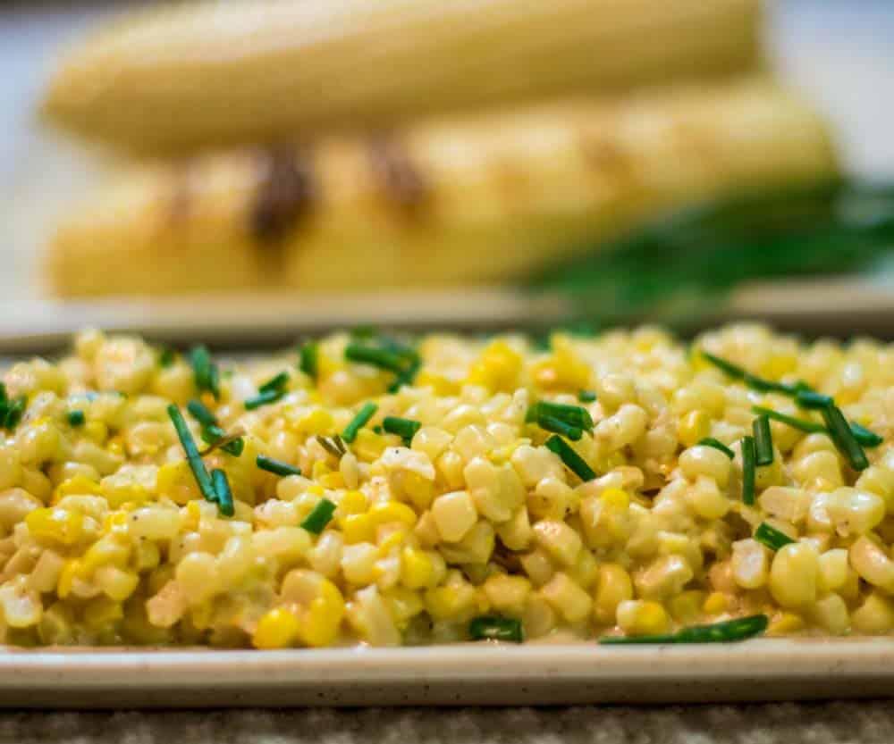 Creamed Corn Close Up