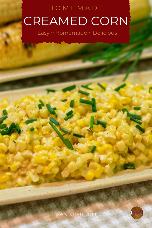 Homemade Creamed Corn