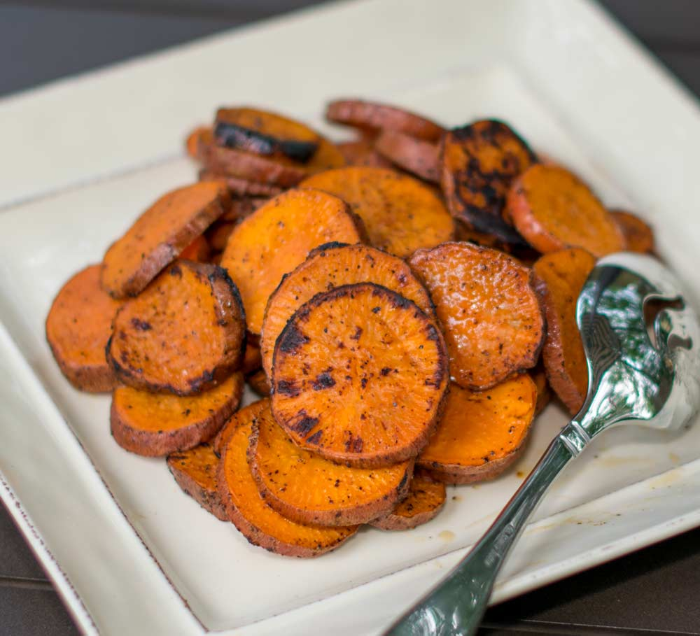 Sweet Potatoes From Grill